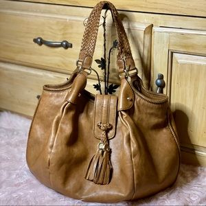 gucci marrakech large calfskin hobo *see descrip!!